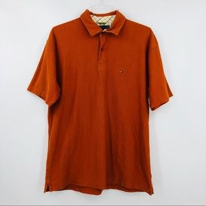 TOMMY HILFIGER Orange Vintage Polo Shirt